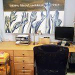 Michele Grady studio office