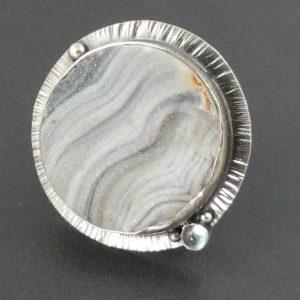 Cochina Druzy Ring