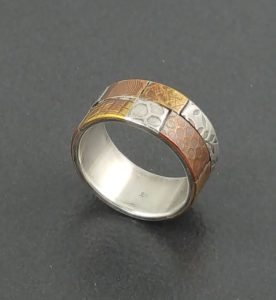 patchwork ring band