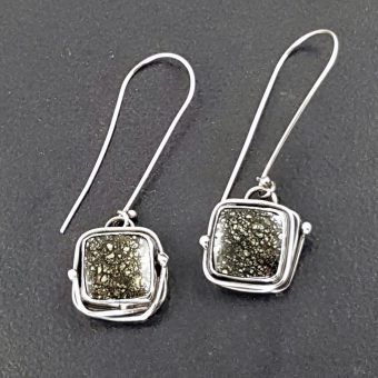 Pyrite Earrings Michele Grady