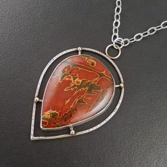 Cherry Creek Jasper Pendant Michele Grady