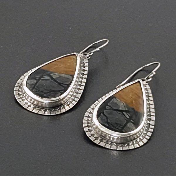 Picasso Jasper Earrings