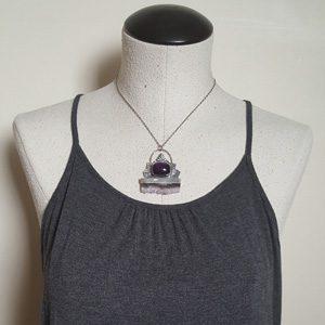 amethyst slice necklace 5