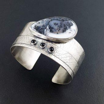 Dendritic Opal Cuff Michele Grady