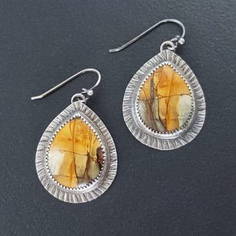 Cherry Creek Jasper Earrings Michele Grady