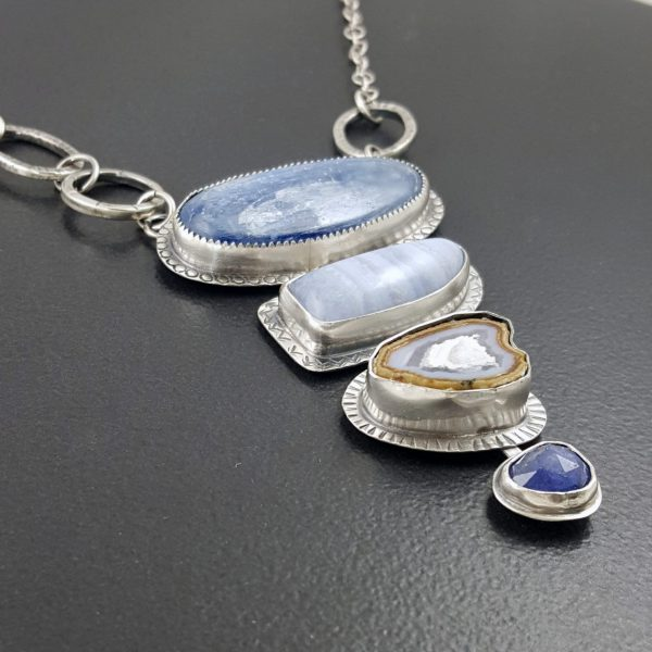 Kyanite Blue Lace Necklace