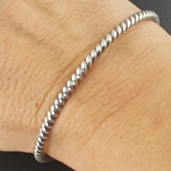 Twisted Wire Stacking Cuff