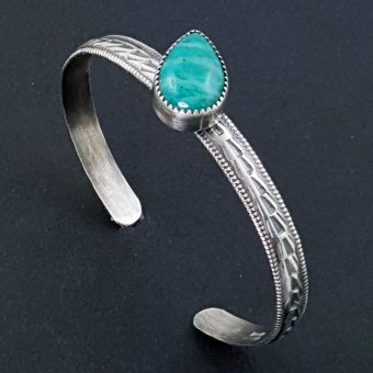 Amazonite Stacking Cuff Michele Grady