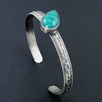 Amazonite Stacking Cuff