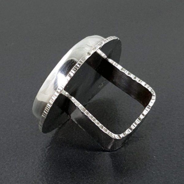 maligano jasper square ring band