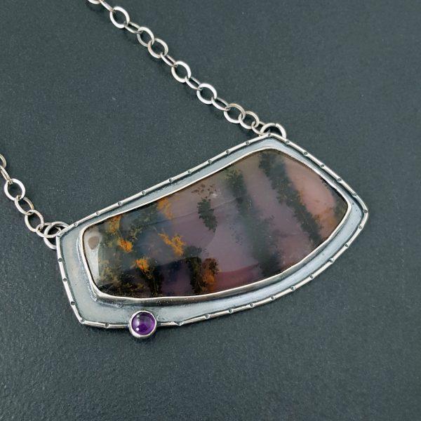 amethyst sage necklace Michele Grady