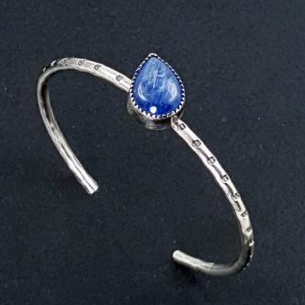 kyanite stacking cuff Michele Grady