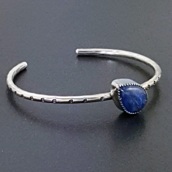 kyanite stacking cuff