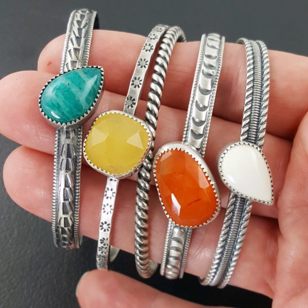 stacking cuffs Michele Grady