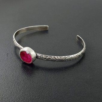 ruby stacking cuff