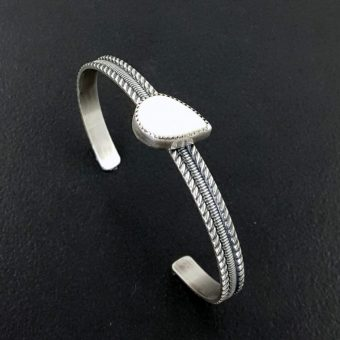 bone stacking cuff Michele Grady