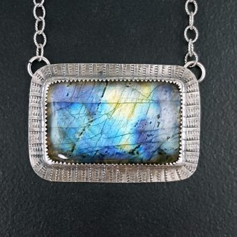 Labradorite Necklace Michele Grady