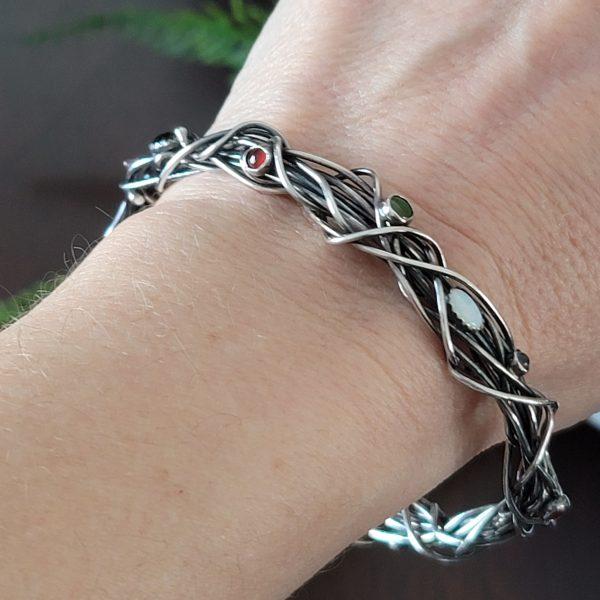 multi stone grapevine bracelet Michele Grady
