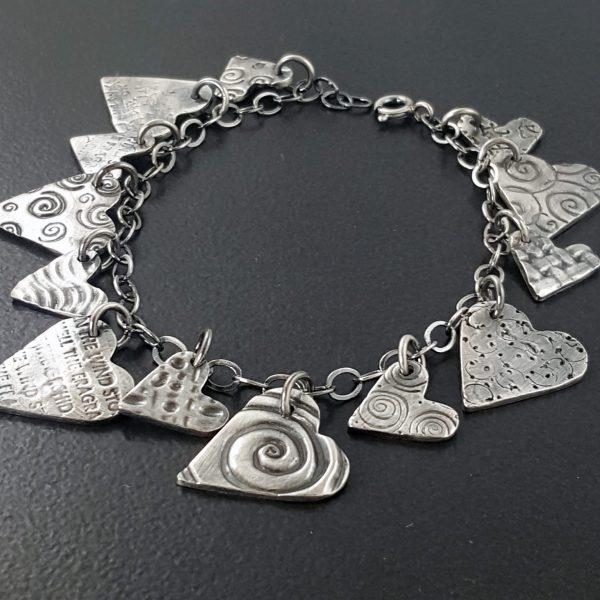 heart charm bracelet 4 michele grady