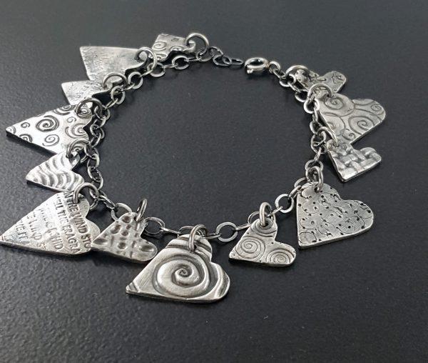 heart charm bracelet 1 michele grady