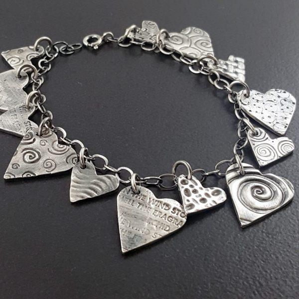 heart charm bracelet 2 michele grady