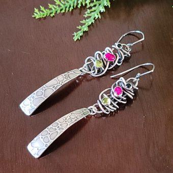 grapevine tab earrings Michele Grady
