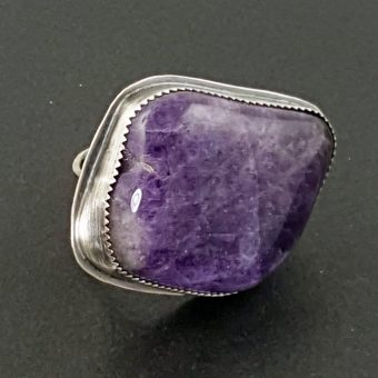 Amethyst Ring Michele Grady