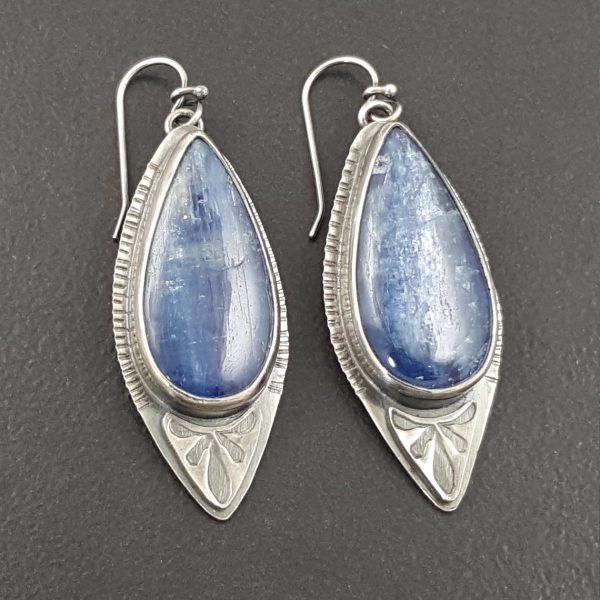 kyanite earrings