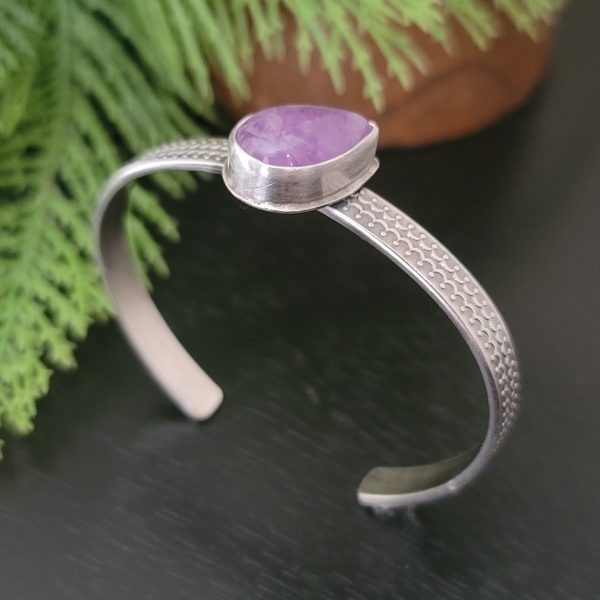 cape amethyst stacking cuff