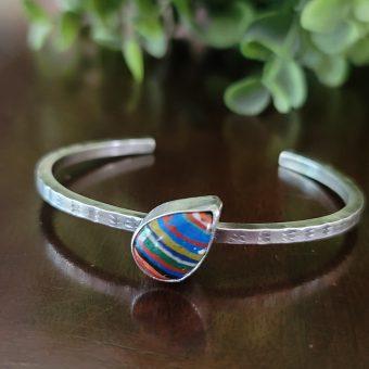 rainbow cal silica stacking cuff