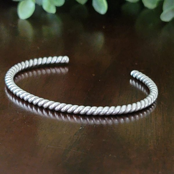 twisted wire cuff