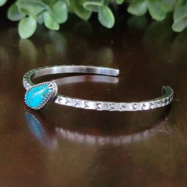 turquoise stacking cuff old stock